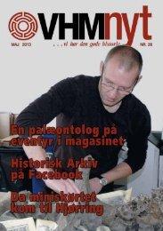 VHM Nyt, nr. 28 - Vendsyssel Historiske Museum & Historisk Arkiv