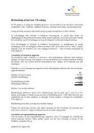 Beskatning af private VE-anlæg - Sønderjyllands Revision