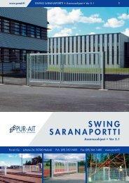 swing saranaportti - Pur-Ait Oy