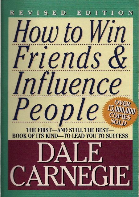 How To Win Friends And Influence Pdf