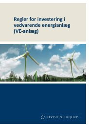 Regler for investering i vedvarende energianlæg ... - Skive Solceller