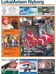 Slaget blev mindet i Nyborg - LiveBook
