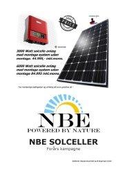 Pris solcellesystemer forår 2012 - Goodwe solcelle inverter, gratis ...