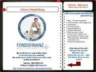 WEB-Visitenkarte : FONDSFINANZ Maklerpool - alles aus einer Hand