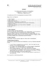 Referat fra general forsamling 2011