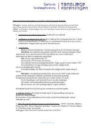 Referat fra bestyrelsesmøde d. 21.6.2011 i Hotel Comwell, Roskilde.