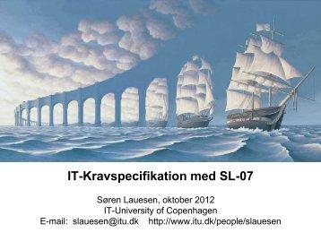 Slides - Søren Lauesen - it-kontraktret.dk