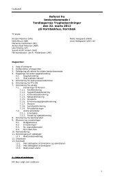 Referat fra Bestyrelsesmøde inkl. dagsorden - Tandlægernes ...
