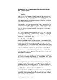 Medlemsvilkår for TDC ForeningsRabat – Mobiltelefoni og ... - ITD