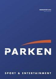 Årsrapport 2012 - Parken
