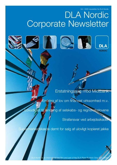 DLA Nordic Corporate Newsletter - Horten