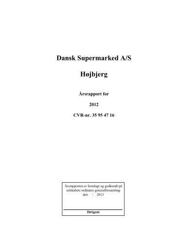 Årsrapport 2012 - Dansk Supermarked