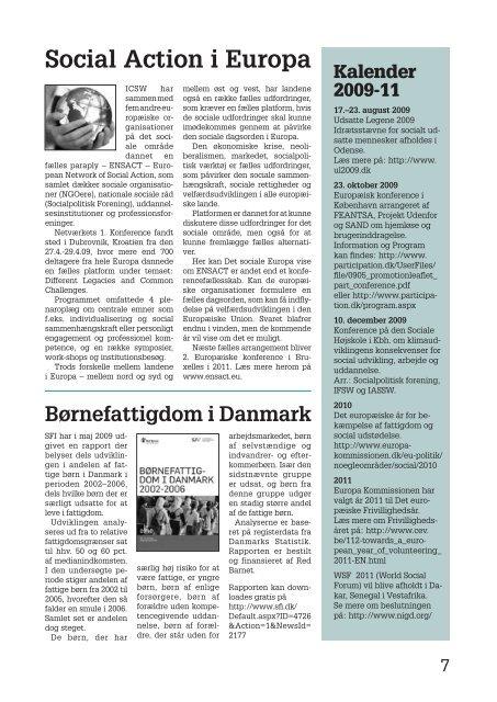 Intersocialt nr. 01.09.indd - Socialpolitisk Forening