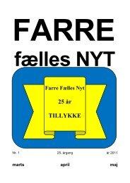 25 år TILLYKKE - Farre