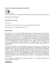 Forslag 3 til FSP's generalforsamling den 14. april 2011 - Frode ...