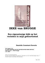 Boek IKKE van Brugge van Dany Constant-Favorin - Welkom op de ...