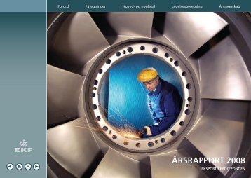 ÅRSRAPPORT 2008 - Eksport Kredit Fonden