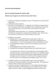 Referat af menighedsrådsmødet 30. september ... - Odense Domkirke