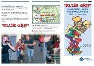 Klub Grif - ungdomsklubben for handicappede i Aalborg Kommune