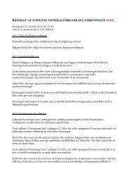 Referat af stiftende generalforsamling - Foreningen Jurs