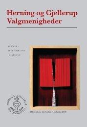 Peter Callesen - Herning og Gjellerup Valgmenigheder