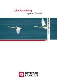 Årsrapport 2009 - Østjydsk Bank