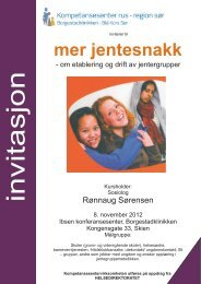 Mer jentesnakk Inv. 8.11.cdr - Borgestadklinikken