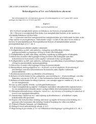 Bekendtgørelse af lov om folkekirkens økonomi