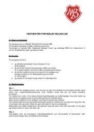 LÆS HER - Måløv Boldklub