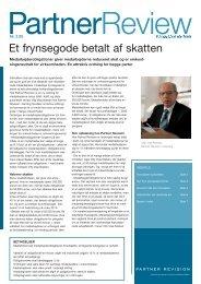 Et frynsegode betalt af skatten - Partner Revision