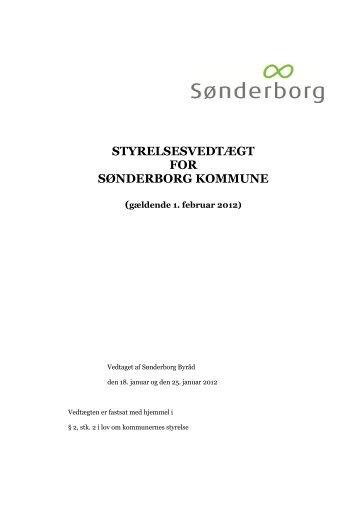 Klik her for at læse styrelsesvedtægten - Sønderborg Kommune