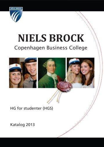 Læs alt om HGS i kataloget - Niels Brock