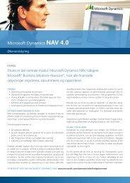 Microsoft Dynamics NAV 4.0