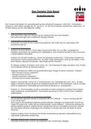 Referat fra generalforsamlingen - Den Danske Club Basel