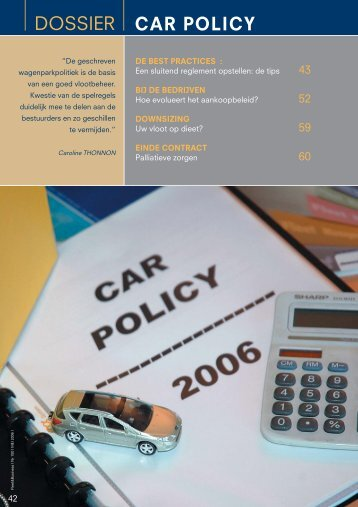 car policy - Imust.be