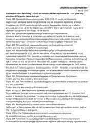 Undervisningsministerens redegørelse af 7. februar ... - Rigsrevisionen