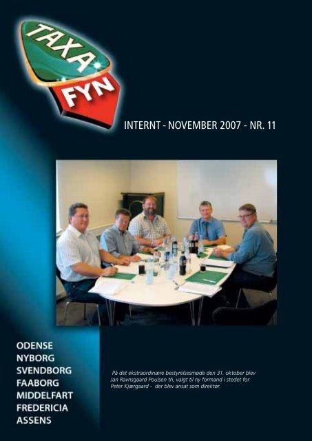 INTERNT - NOVEMBER 2007 - NR. 11 - Taxa Fyn