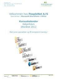 Velkommen hos PeopleNet A/S