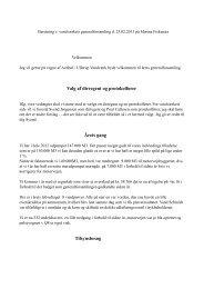 Beretning fra generalforsamling 2013 - Avnbøl Ullerup Vandværk