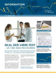 DR Information nr. 51- september 2010 - Dansk Revision