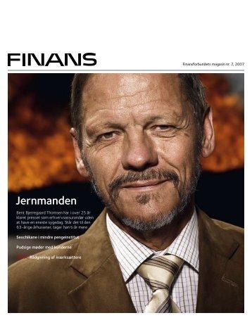 Magasinet Finans nr. 7/2007 (PDF) - Finansforbundet