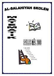 7. KLASSE - Al-Salahiyah Skolen