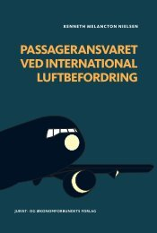 Passageransvaret ved international luftbefordring