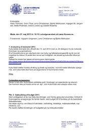 Referat af møde den 27. maj 2013 - Læsø Kommune