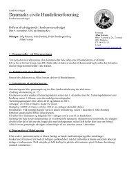 Danmarks civile Hundeførerforening