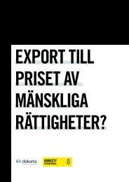 Export till priset av mänskliga rättigheter - Diakonia