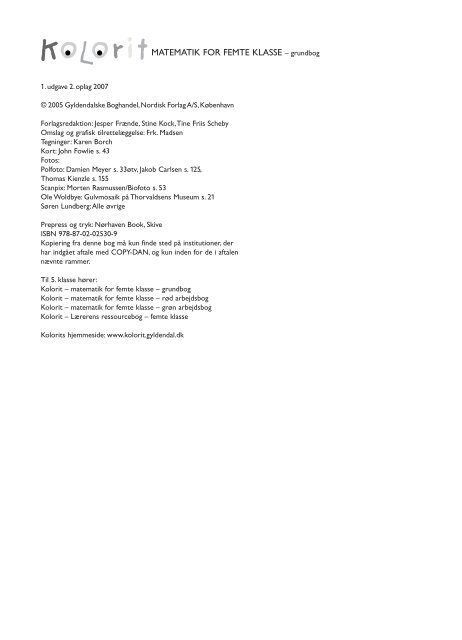 KOLORIT 5 Grundbog - Syntetisk tale