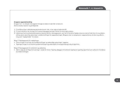Evalueringsopgaver & fokuspunkter - Haubo Undervisning