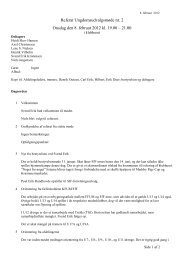 Referat den 8. februar 2012 - Fredericia fF