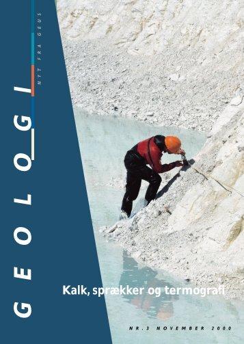 Geologi Nyt fra GEUS nr. 3, november 2000
